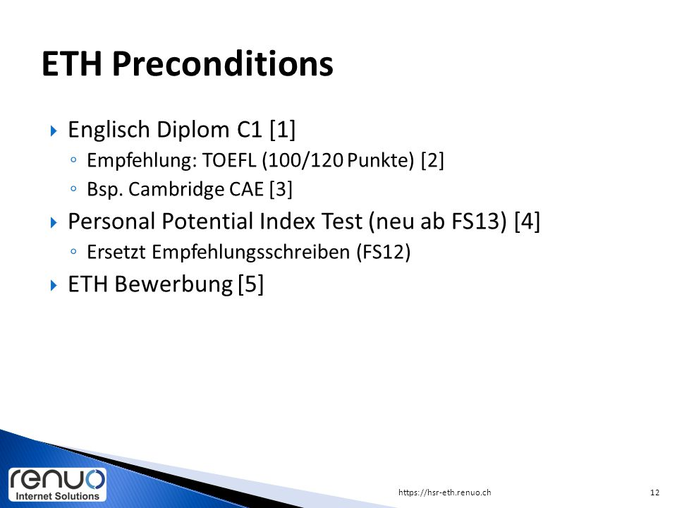 ETH Preconditions Englisch Diplom C1 [1]
